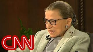 Ruth Bader Ginsburg: Health is 'fine' after fall