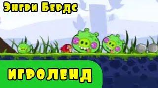 Мультик Игра для детей Энгри Бердс. Прохождение игры Angry Birds [1] серия