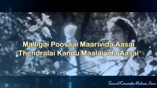 Chinna Chinna Aasai - Roja - HQ Tamil Karaoke by Law Entertainment