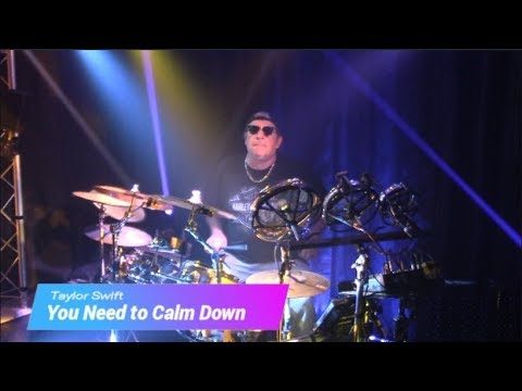 Download Lagu  You Need to Calm Down by Taylor Swift - Drum Cover Modified Alesis Crimson/Laurin Drums Hybrid Kit Mp3 Free