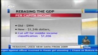 Kenya joins Middle Income Countries becoming the 9th largest economy on the continent