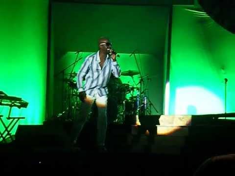 "Aaron Hall ""Piece of My Love"" @ Fresh Music Festival @ Houston Reliant Arena"