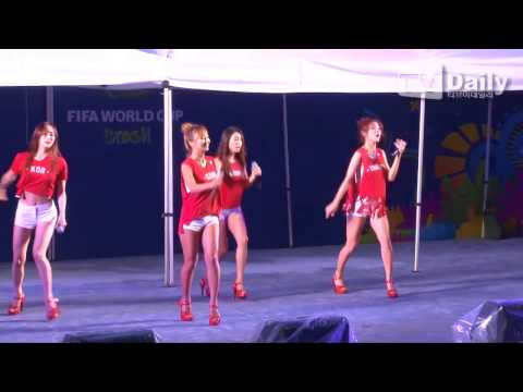 140623 씨스타 Sistar - Give It To Me - 2014 Fifa World Cup Support Stage