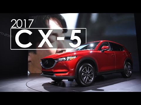 Mazda CX-5 | First Look & Overview | 2017 New York International Auto Show