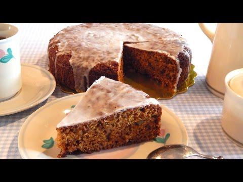 Torta de Zanahoria con Glaseado de Limón | Fácil