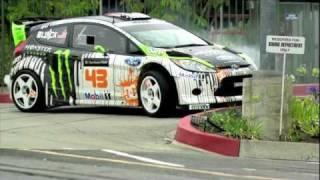 Ken Block Gymkhana 4 - Ford Fiesta