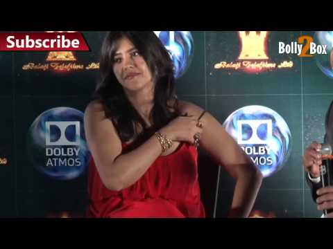 Ekta Kapoor Huge Cleavage Exposed thumbnail