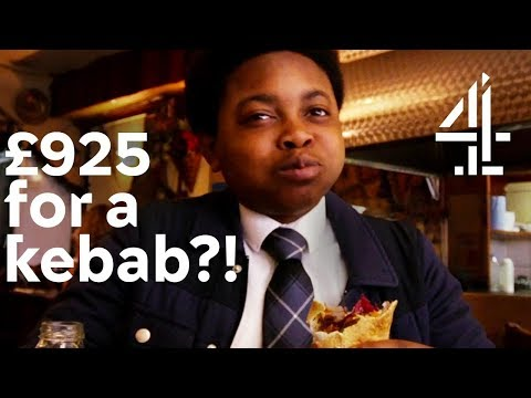 Trying the World's Most Expensive Kebab?! | Peng Life