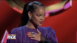 Rihanna Receives President's Awards At The NAACP Image Awards | Celebrity Page