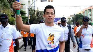 En Santo Domingo ya comenzó el Recorrido de la Antorcha de los Juegos Nacionales 2018
