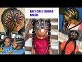 BABY GIRLS BRAIDED HAIRSTYLES FOR SUMMER | OmoniCurls