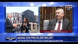 Yerel Seçim 2019 - 4 Ocak 2019 (CHP'nin Adana Büyükşehir Belediye Başkan Adayı Zeydan Karalar)