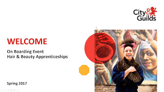 """City & Guilds Hair and Beauty """"New Apprenticeship"""" webinar"""