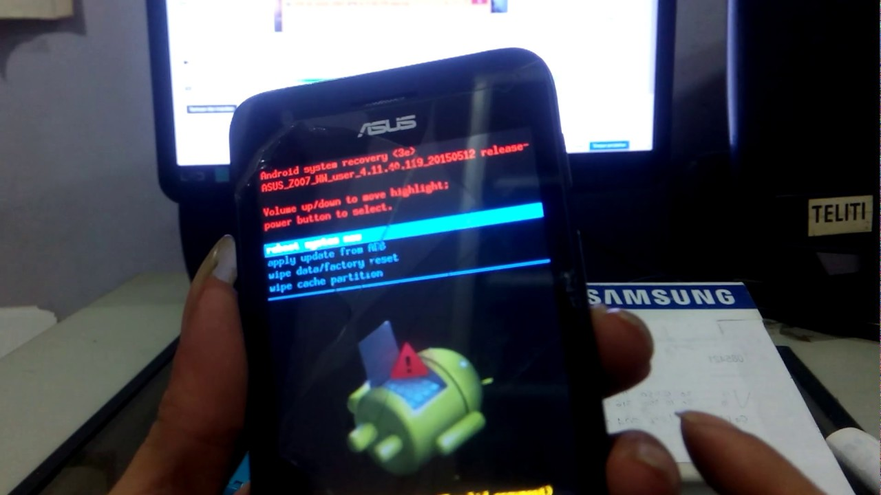 Cara Reset Asus ZenFone Z007 Via Recovery