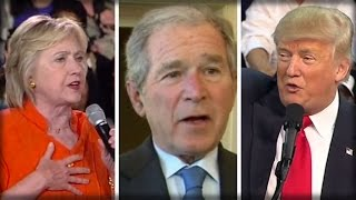 WHOA! YOU'LL BE SHOCKED TO LEARN WHO BUSH REALLY VOTED FOR!