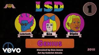 LSD - Genius FT  Sia, Dinlo, Labrinth 1 Hour