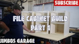 Wood File Cabinet Build - Part 1