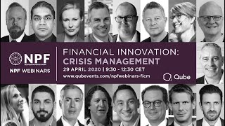 QUBE NPF Webinar 2020: Financial Innovation: Crisis Management #qube #npf #webinar