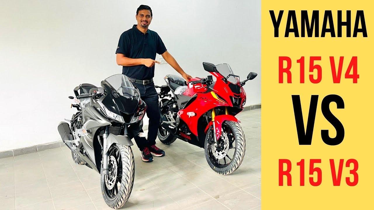 Download Yamaha R15 V4 Vs R15 V3 - Most Detailed Comparison