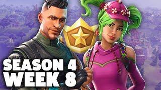 Fortnite Season 4 Week 8 Challenges Live