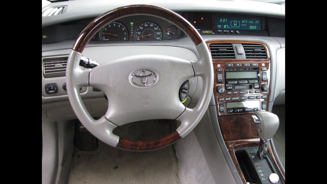 DIY How To Replace Srs Airbag Computer On To Toyota - 2001 avalon