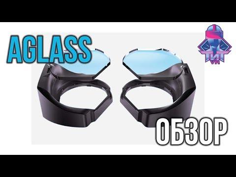 Обзор AGlass - Отслеживание Глаз для Вашего VR Шлема