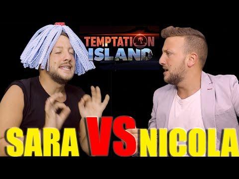 Il falò di SARA vs NICOLA - Tentescion Ailand 2017