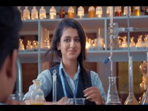 Priya Prakash varrier romance in school lab, video viral