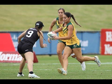 2017 Touch Football Women's Open Trans Tasman Game One