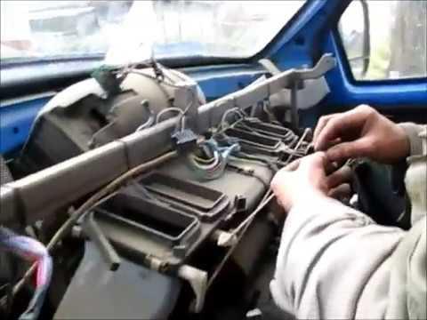 Газель бизнес ремонт печки через жопу с матом