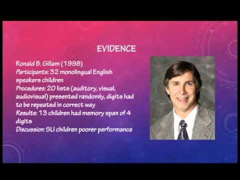 Video Information Processing Psycholinguistics class