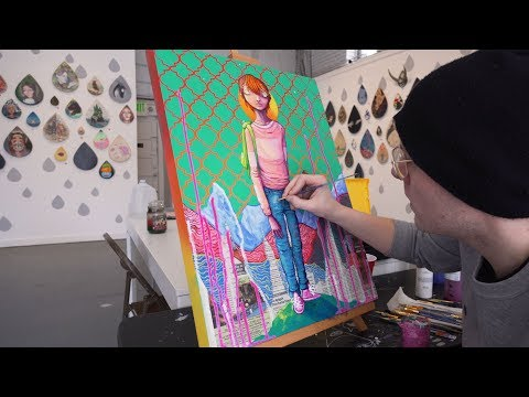 Making a Painting from Start to Finish - Process Tutorial
