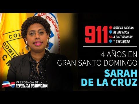 VIDEO: 4 años en Gran Santo Domingo. Sarah de la Cruz