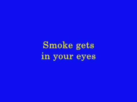 The Platters - Smoke Gets In Your Eyes - 1958