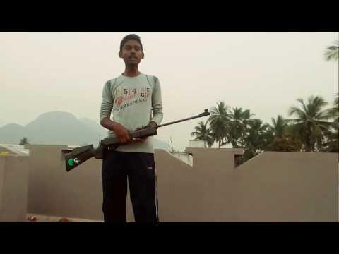 Rifle shooting tutorial in telugu