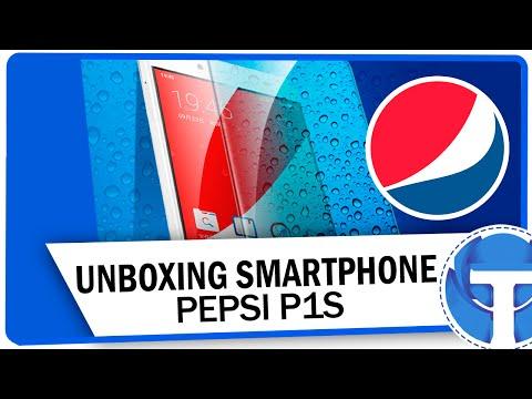 Unboxing: Smartphone da Pepsi P1S