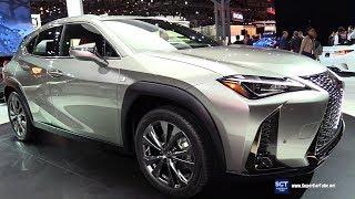 2019 Lexus Ux 200 F Sport - Exterior And Interior Walkaround - Debut 2018 New York Auto Show