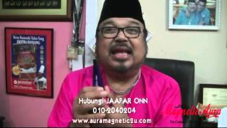 JAAFAR ONN DUTA MAGNETIC AURA - VIOLET BLUE / MAGIC BALM ( PART 1 )