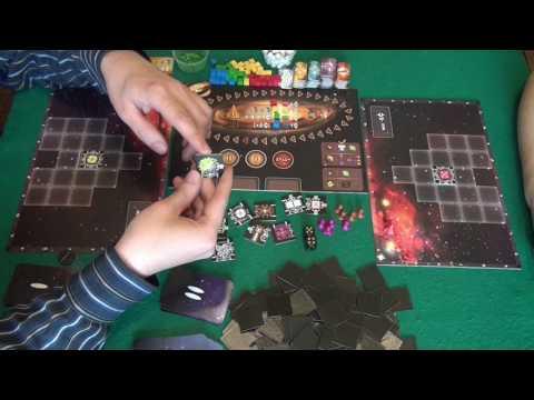 Космические дальнобойщики 1/2 часть - играем в настольную игру, Galaxy Trucker board game