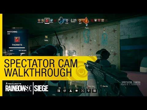 Tom Clancy's Rainbow Six Siege Official – Spectator Cam Walkthrough - Gamescom 2015