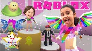 **ROBLOX: Let's Play FASHION FAMOUS!! IPAD APP Toys with Angelina & Joe Joe