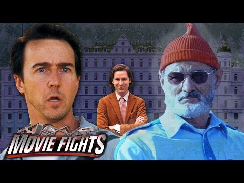 Wes Anderson Horror Director   MOVIE FIGHTS Poster