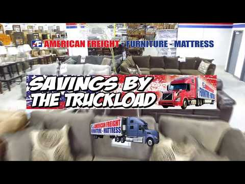Savings By The Truckload At American Freight