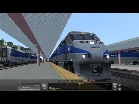 TS2017: Amtrak Surfliner - Train Simulator 2017  
