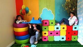 Aile Boyu En Komik Saklambaç! Hide and Seek Family Fun Kids Video