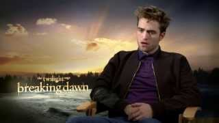 "Robert Pattinson - ""A lot of things in the Twilight world don"