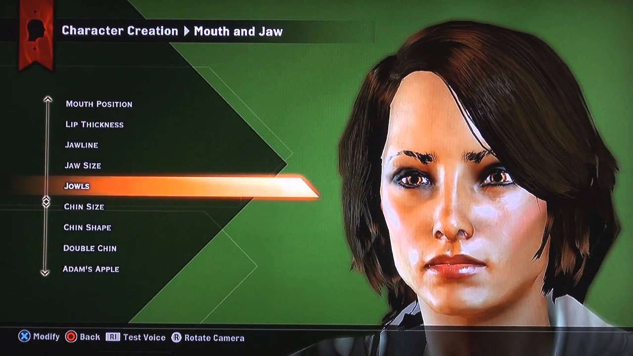 Dragon Age Inquisition Pretty Human Female Creation Ps3