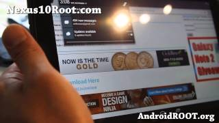 How to Root Nexus 10! [Android 4.2.1/4.2.2]