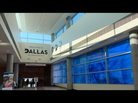 Full Tour Of Dallas Love Field Airport