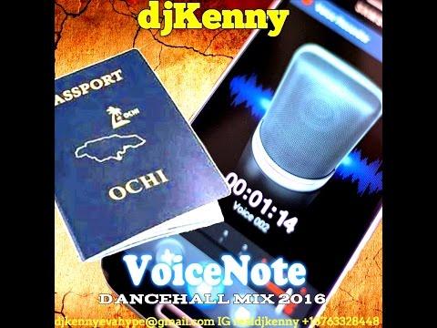 DJ KENNY VOICENOTE DANCEHALL MIX MAY 2016